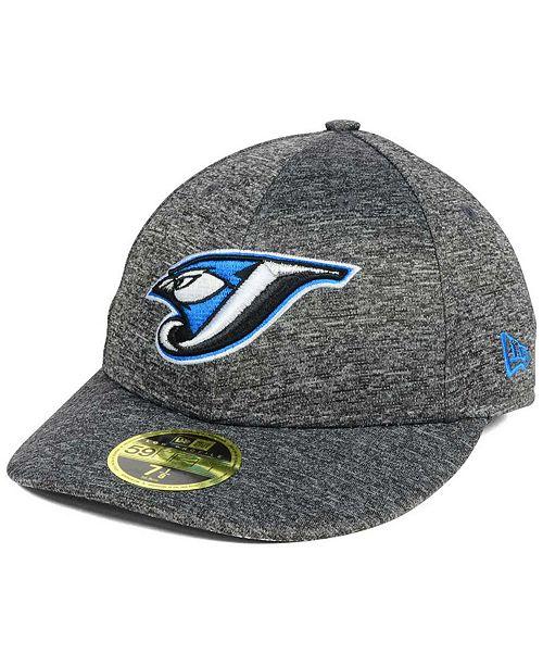 New Era Toronto Blue Jays Shadowed Low Profile 59FIFTY Cap - Sports ... 3d50a032465a