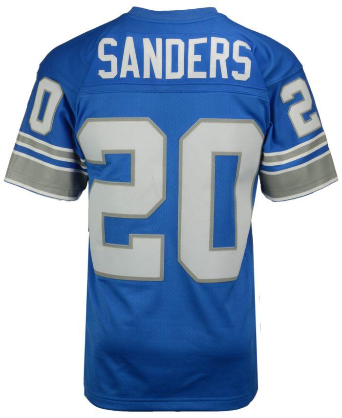 Mitchell & Ness Men's Barry Sanders Detroit Lions Replica Throwback Jersey & Reviews - Sports Fan Shop By Lids - Men - Macy's