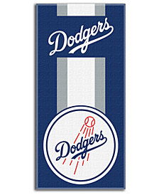 "Northwest Company Los Angeles Dodgers Beach Towel ""Zone Read"""