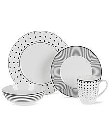 Dinnerware, Cheers 4 Piece Place Setting