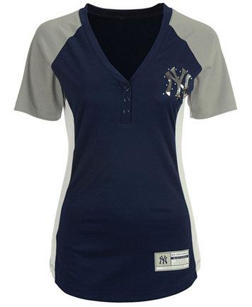 ef9aaa05e74 Majestic Women's New York Yankees League Diva T-Shirt - Sports Fan Shop By  Lids - Men - Macy's