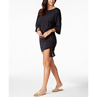 Deals on MICHAEL Michael Kors Side-Tie Tunic Cover-Up