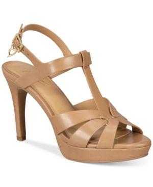 Thalia Sodi Verrda Platform Dress Sandals, Created for Macy