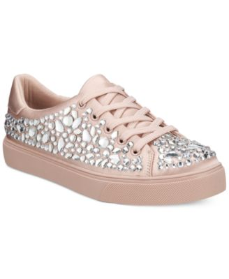 ALDO Zellina Jewel Embellished Lace Up Sneakers