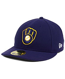 Milwaukee Brewers Low Profile AC Performance 59FIFTY Cap