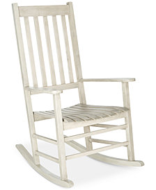 Evaline Outdoor Rocking Chair, Quick Ship