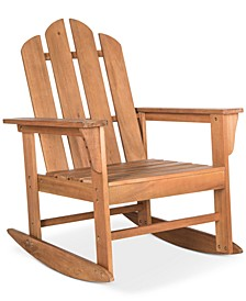 Adda Outdoor Adirondack Rocking Chair
