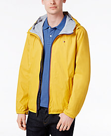 Tommy Hilfiger Men's Zip-Front Hooded Windbreaker