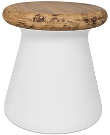 Morlie Outdoor Accent Table, Quick Ship