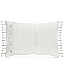 "Bianco 15"" x 21"" Boudoir Decorative Pillow"
