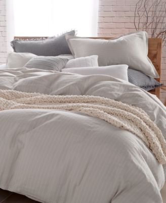 Image 1 Of DKNY PURE Comfy Cotton Full/Queen Duvet Cover