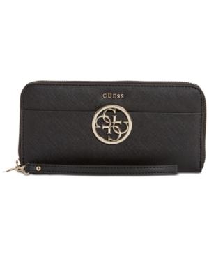 Image of Guess Kamryn Large Zip-Around Wallet