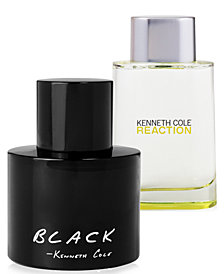 Kenneth Cole Reaction & Black Fragrance Collection