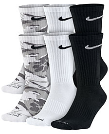 Nike Men's Dry Cushioned Crew Socks 6-Pack