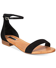 I.N.C. Women's Yafaa Flat Sandals, Created for Macy's