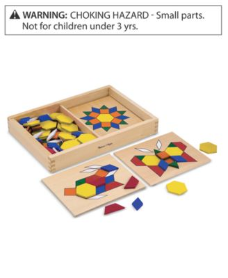 Melissa and Doug Toy, Pattern Blocks and Boards