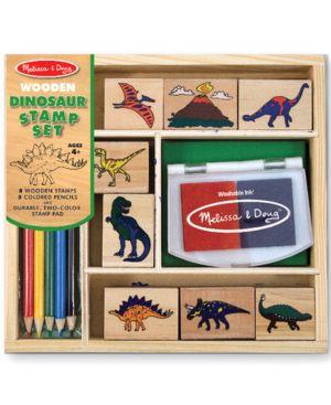 Melissa and Doug Toy, Dinosaur Stamp Set 518141
