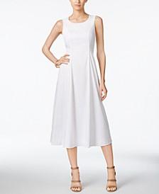 Petite A-Line Midi Dress, Created for Macy's