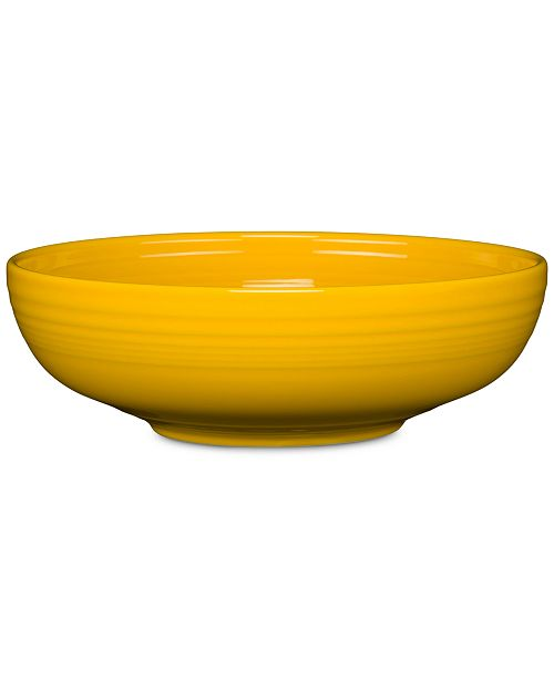 Fiesta Daffodil Large Bistro Serving Bowl