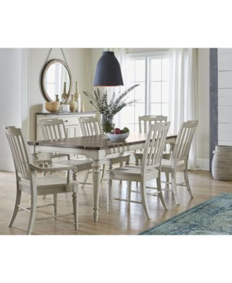 Barclay Expandable Dining Room Furniture, 5-Pc. Set (Dining Table ...