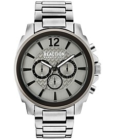 Men's Chronograph Stainless Steel Bracelet Watch 48mm 10031947