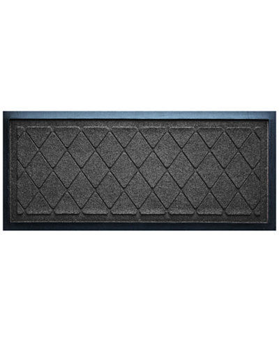 Bungalow Flooring Water Guard Argyle Boot Tray Charcoal 15