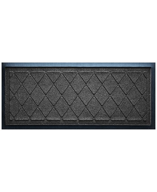 Water Guard Argyle Boot Tray Charcoal 15