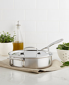 Demeyere 5-Plus Stainless Steel 3-Qt. Sauté Pan
