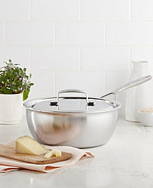 Demeyere 5-Plus Stainless Steel 3.5-Qt. Saucier