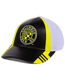adidas Columbus Crew SC Authentic Team Flex Cap