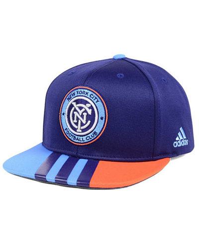 adidas New York City FC Authentic Team Snapback Cap