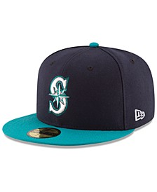 Kids' Seattle Mariners Authentic Collection 59FIFTY Cap
