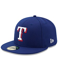 Kids' Texas Rangers Authentic Collection 59FIFTY Cap