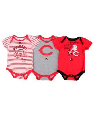 1f4b43cde Majestic Cincinnati Reds Homerun 3-Piece Set, Baby Boys (0-9 months) -  Sports Fan Shop By Lids - Men - Macy's
