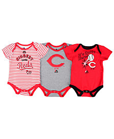 Majestic Cincinnati Reds Homerun 3-Piece Set, Baby Boys (0-9 months)