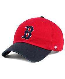 '47 Brand Boston Red Sox Cooperstown Clean Up Cap