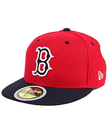 New Era Kids' Boston Red Sox Batting Practice Diamond Era 59FIFTY Cap
