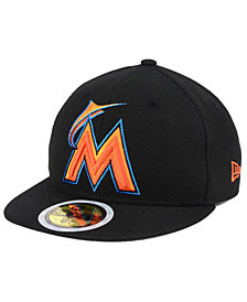 New Era Kids' Miami Marlins Batting Practice Diamond Era 59FIFTY Cap