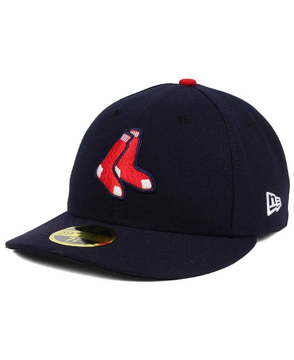 New Era Boston Red Sox Low Profile AC Performance 59FIFTY Cap