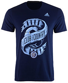 adidas Men's New York City FC Club & Country T-Shirt