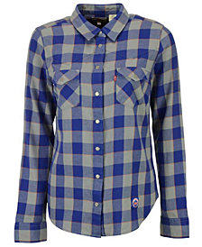 Levi's Women's New York Mets Buffalo Western Button-Up Shirt