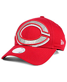 New Era Women's Cincinnati Reds Glitter Glam 9FORTY Strapback Cap