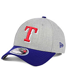 New Era Texas Rangers Heather Hit 9FORTY Cap