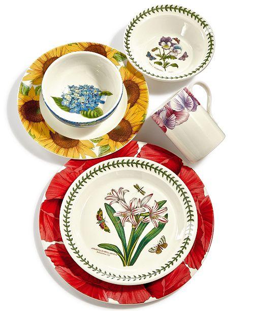 Portmeirion Botanic Garden Blooms Dinnerware Collection Amp Reviews Dinnerware Dining Macy S