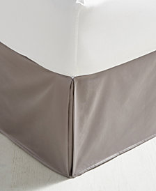 Charter Club Damask Full Bedskirt, 100% Supima Cotton 550 Thread Count, Created for Macy's