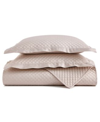 Charter Club Damask Cotton 2 Pc Quilted Twin Coverlet, Created For Macyu0027s