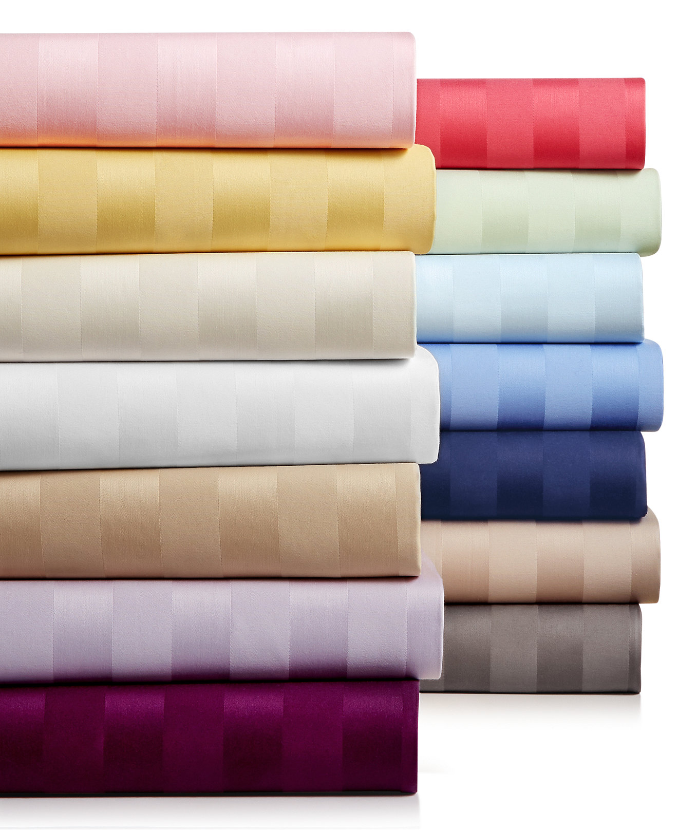 charter club damask stripe extra deep pocket sheet sets 550 thread count pure supima cotton - Picture Sheets