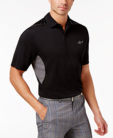 Greg Norman for Tasso Elba Men's Performance Vented Golf Polo, Created for Macy's