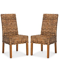 Wendale Set of 2 Wicker Side Chairs