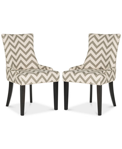 Aneva Set of 2 Dining Chairs, Quick Ship